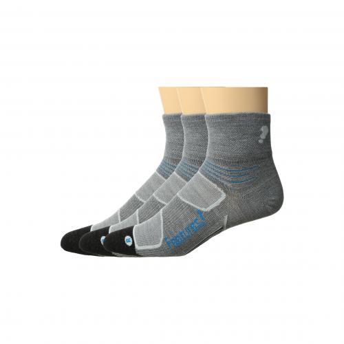 フィーチャーズ エリート ウルトラ ライト クウォーター パック Feetures Elite Merino+ Ultra Light Quarter 3-Pair Pack