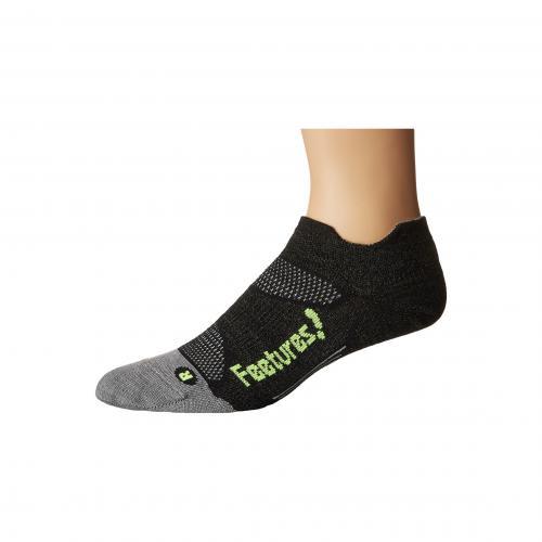 フィーチャーズ エリート ウルトラ ライト ノー ショー タブ パック Feetures Elite Merino+ Ultra Light No Show Tab 3-Pair Pack