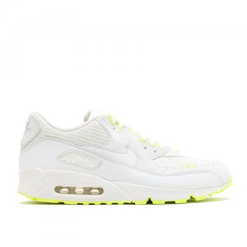 【サイズ交換可能商品】ナイキ エアー マックス プレミアム メンズ 男性用 靴 スニーカー メンズ靴 【 NIKE AIR PREMIUM MAX 90 KAWS WHITE WHITEVOLT 】