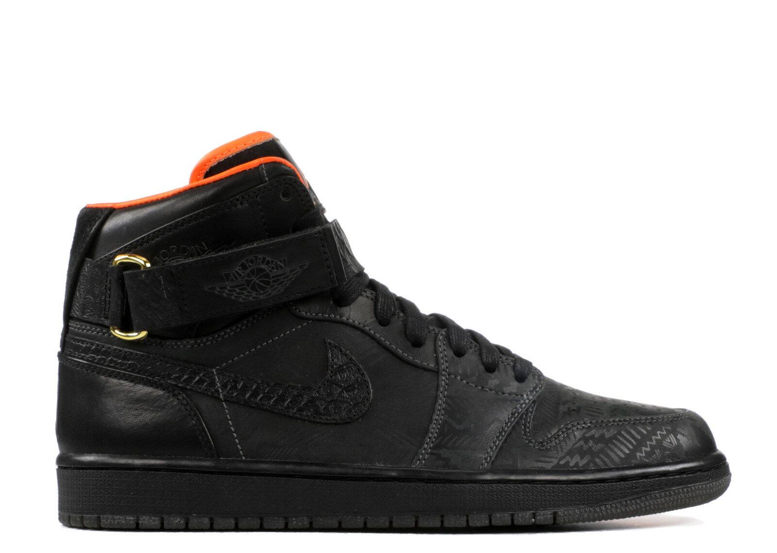 エアー ジョーダン ハイ ストラップ ジャスト メンズ 男性用 スニーカー メンズ靴 靴 【 AIR JORDAN 1 HIGH STRAP PROMO JUST DON BHM BLACK ANTHRACITEBLACK 】