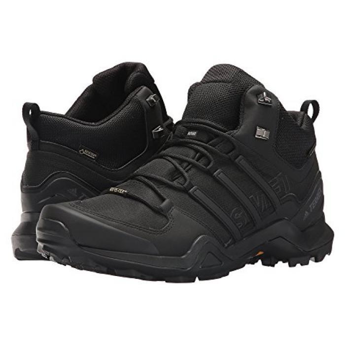 アディダス アウトドア スウィフト ミッド GTX メンズ 男性用 靴 【 ADIDAS SWIFT OUTDOOR TERREX R2 MID BLACK 】