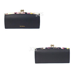 ポールスミス財布メンズレディースPaulSmithフラワーポイントがま口長財布全4色送料無料代引き料有料消費税込