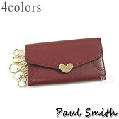 ポールスミス 財布 メンズ レディース Paul Smith ラブレター3 キーケース 全4色 PWU921 送料無料 代引き料有料 消費税込