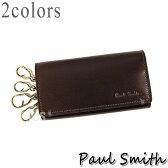 ポールスミス 財布 メンズ Paul Smith コードバン キーケース PSU991 全2色 送料無料 代引き料有料 消費税込