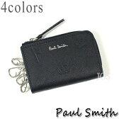 ポールスミス 財布 メンズ Paul Smith ポールドローイング キーケース 全4色 P004 送料無料 代引き料有料 消費税込