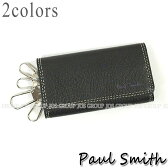 ポールスミス 財布 メンズ Paul Smith ピッグスキン 4連キーケース 全2色 PSY614 送料無料 代引き料有料 消費税込