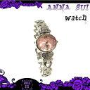 アナスイ Anna Sui 時計 アクセサリー バタフライ ハート モチーフ 腕時計 FBVK992 シルバー ピンク 新作 ギフト annasui