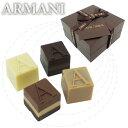 アルマーニ ドルチ ARMANI DOLCI アルマーニドルチ チョコレート ブロンズボックス プラリネ 4個入り スイーツ