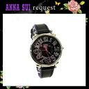 アナスイ Anna Sui 時計 アクセサリー ミステリアス文字盤 ブティック限定 ブラック/ブラック 腕時計 2013 新作