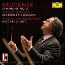 Symphony - 【送料無料】ブルックナー:交響曲第2番/R.シュトラウス:町人貴族/リッカルド・ムーティ[SHM-CD]【返品種別A】