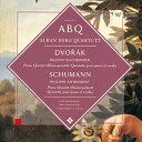作曲家名: Ta行 - ドヴォルザーク&シューマン:ピアノ五重奏曲集/アルバン・ベルク四重奏団[CD]【返品種別A】