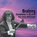 ブラームス:交響曲第3番&第4番/小林研一郎&日本フィル[Blu-specCD2]【返品種別A】