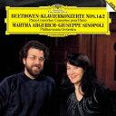 ベートーヴェン:ピアノ協奏曲第1番・第2番/マルタ・アルゲリッチ