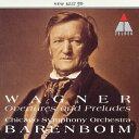 作曲家名: Wa行 - ワーグナー:管弦楽名曲集/バレンボイム(ダニエル)[CD]【返品種別A】