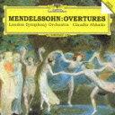 メンデルスゾーン:序曲集/アバド(クラウディオ),ロンドン交響楽団[CD]【返品種別A】