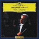 ベートーヴェン:交響曲第5番《運命》&第7番/カラヤン(ヘルベルト・フォン)[CD]【返品種別A】