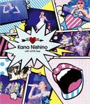 【送料無料】with LOVE tour【DVD】/西野カナ[DVD]【返品種別A】