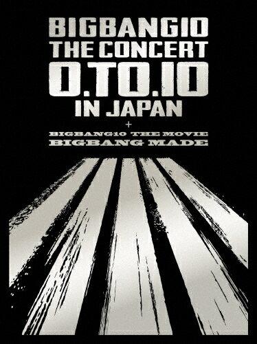 【送料無料】[枚数限定][限定版]BIGBANG10 THE CONCERT:0.TO.10 in JAPAN+BIGBANG10 THE MOVIE BIGBANG MADE -DELUXE EDITION-/BIGBANG[DVD]【返品種別A】