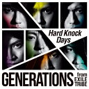 Hard Knock Days(DVD付)/GENERATIONS from EXILE TRIBE CD DVD 【返品種別A】
