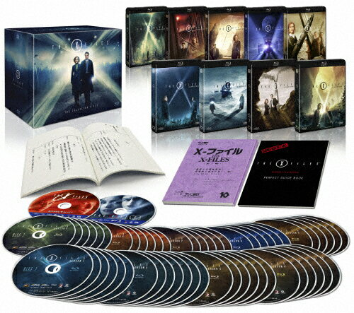 【送料無料】[枚数限定][限定版]X-ファイル コレクターズブルーレイBOX〔初回生産限定〕/デイビッド・ドゥカブニー[Blu-ray]【返品種別A】