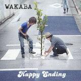 【】Happy Ending/wakaba[CD+DVD]【退货类别A】[【】Happy Ending/ワカバ[CD+DVD]【返品種別A】]