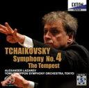 Composer: Ta Line - チャイコフスキー:交響曲 第4番 幻想曲「テンペスト」/ラザレフ(アレクサンドル)[HybridCD]【返品種別A】