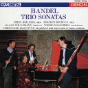 管弦樂 - ヘンデル:トリオ・ソナタ選集/ホリガー(ハインツ)[CD]【返品種別A】