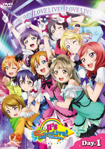 【送料無料】ラブライブ!μ's Go→Go! LoveLive! 2015〜Dream Sensation!〜 DVD Day1/μ's[DVD]【返品種別A】