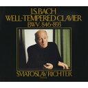 【送料無料】J.S.バッハ:平均律クラヴィーア曲集全巻 BWV846〜893/リヒテル(スヴャトスラフ)[CD]【返品種別A】