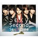 【送料無料】[枚数限定][限定盤]Sexy Second(初回限定盤B)/Sexy Zone[CD+DVD]【返品種別A】