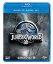 【送料無料】ジュラシック・ワールド3D ブルーレイ&DVDセット(ボーナスDVD付)/クリス・プラット[Blu-ray]【返品種別A】