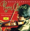 パガニーニ:24のカプリース(シューマン編/ピアノ伴奏版)/ギャレット(デイヴィド)[CD]【返品種別A】