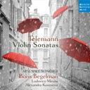 Composer: Ta Line - TELEMANN: VIOLIN SONATAS【輸入盤】▼/BORIS BEGELMAN[CD]【返品種別A】