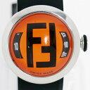 【時計】 FENDI フェンディ 8010L ブースラ ズッカ ラバーブレス ユニセックス クォーツ 【中古品】