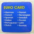 【送料無料】GT-V4ユーロ言語カード(12ヶ国語) GLC−EU12電子翻訳機+英語学習機 オプション言語カード