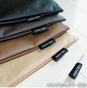 """クッションカバー  45x45cm """"A Simple Leather"""""""