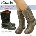【あす楽】クラークス Clarks レディースショートブーツ エンジニアブーツ ナショナルスパイス 336F スエード National Spice