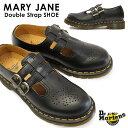 【あす楽】ドクターマーチン Dr.MARTENS メリージェーン 12916001 ダブルストラップシューズ レディース MARY JANE DOUBLE STRAP SHOE