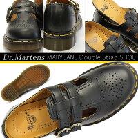 【あす楽】ドクターマーチンDr.MARTENSメリージェーンダブルストラップシューズレディース12916001