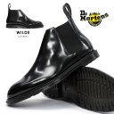 【あす楽】ドクターマーチン Dr.Martens ヘンリー ワイルド ロー チェルシーブーツ 16775001 本革 メンズ ブーツ