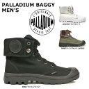 【あす楽】パラディウム PALLADIUM バギー 02353 メンズスニーカー メンズモデル ブーツ ハイカット Baggy 折り返し