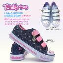 【あす楽】スケッチャーズ SKECHERS 光る靴 10759L ダズルダッシュ トゥインクル トゥズ 子供 スニーカー 女の子 Twinkle Toes Shuffles Dazzle Dash DNPK LBLV