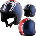 アルファレイズ 72JAM JET HELMET SP-01 SP TADAO JET 「SP忠男 ジェットヘルメット」 ネイビー/レッド 目玉ヘルメット フリーサイズ