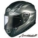 OGK Aeroblade-3 LINEA (エアロブレード3 リネア) フルフェイスヘルメット 【フラットガンメタ XLサイズ】
