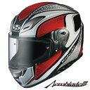 OGK Aeroblade-3 MAVERICK (エアロブレード3 マーヴェリック) フルフェイスヘルメット 【ホワイトレッド XLサイズ】