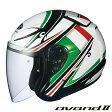 OGK AVAND2 FLAG (アヴァンド 2 フラッグ) ジェットヘルメット 【Lサイズ】