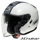 ショウエイ J-CRUISE CORSO (Jクルーズ コルソ) ジェットヘルメット 【TC-6(WHITE/SILVER) XXLサイズ】