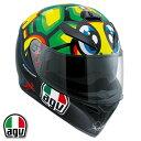 AGV K-3 SV TARTARUGA フルフェイスヘルメット バレンティーノ・ロッシ レプリカモ