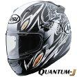 アライ×東単 QUANTUM-J Eternal (クアンタムJ エターナル) フルフェイスヘルメット 【黒 L(59-60cm)サイズ】