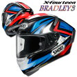 ショウエイ X-FOURTEEN BRADLEY3(ブラッドリー3) X-14 レプリカ フルフェイスヘルメット 【TC-1(RED/BLACK) Lサイズ】